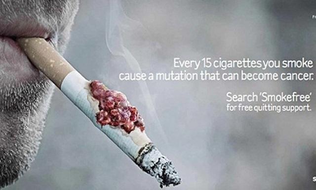 Campagne anti tabac, choquer pour arrêter de fumer
