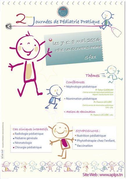 2 emes journees de pediatrie pratique tunisie