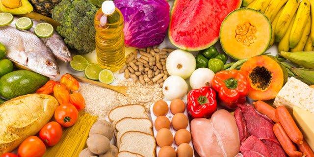Qu'est ce qu'une alimentation équilibrée + Table des calories 1