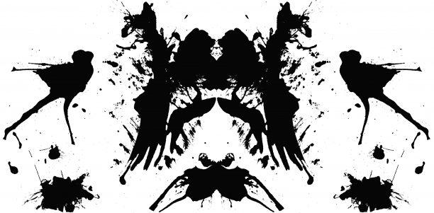 Test de taches d'encre de Rorschach 2
