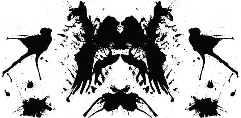 Test de taches d'encre de Rorschach 1