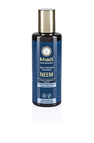 KHADI Shampooing ayurvédique neem Anti-Pellicules - 210ml