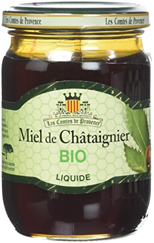 Miel de Chataignier Liquide Bio Les Comtes de Provence 330 g