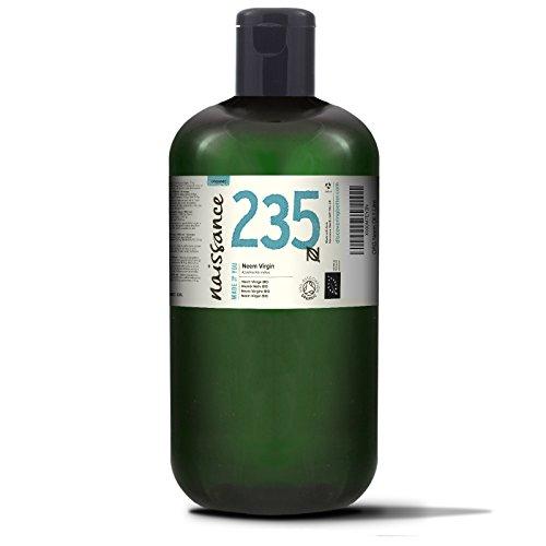 Naissance Huile de Neem Vierge BIO (n° 235) - 1 litre - 100% pure et naturelle, pressée à froid et non-raffinée