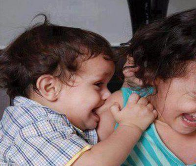 Morsure chez l'enfant : Causes et comportement à adopter