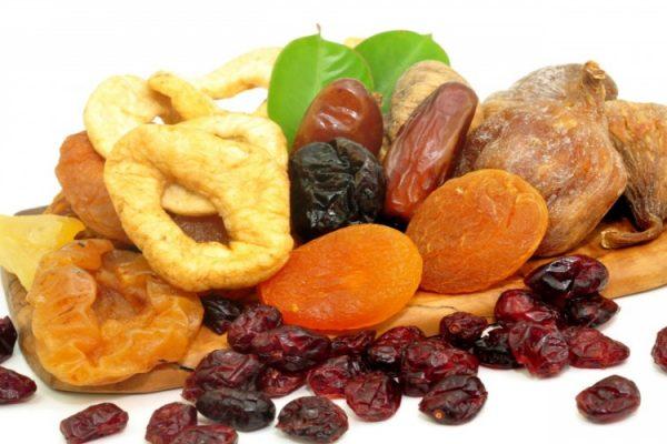 Sruits secs, séchés, déshydratés : bienfaits santé