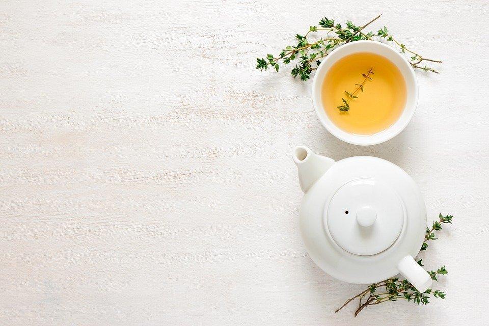 Une boisson au thé vert riche en antioxydants