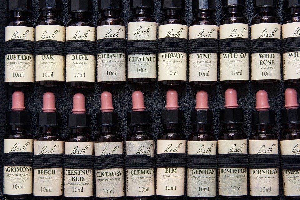 Fleurs de Bach, essences, huiles, essentielles, stress